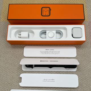 アップルウォッチ(Apple Watch)のAppleWatch6 HERMES アップルウォッチ6 エルメス(腕時計(デジタル))
