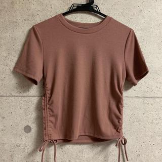 ZARA - リブTシャツ