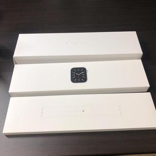 アップルウォッチ(Apple Watch)のApple Watch series 6 GPS 44mm シルバーアルミ (スマートフォン本体)