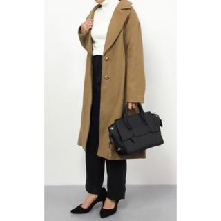 PLAIN CLOTHING - プレーンクロージング未使用!2WAYバッグA4ビジネス通学通勤ブラック
