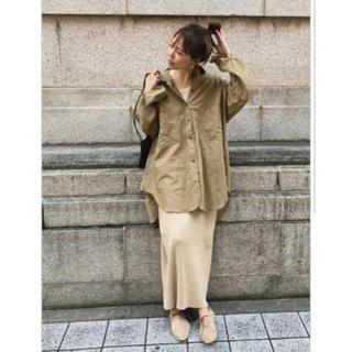 TODAYFUL - ◉お値下げ original Linen oversize shirt