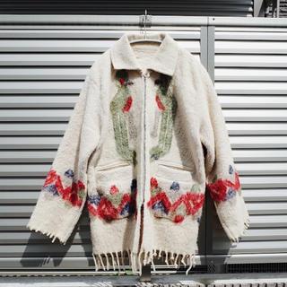 アメリヴィンテージ(Ameri VINTAGE)の70's Vintage Ethnic wool jacket(ブルゾン)