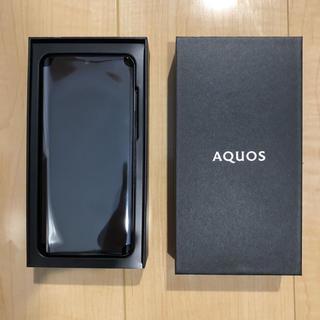 アクオス(AQUOS)のSHARP Aquos zero 2 SIMフリー 新品未使用 ブラック (スマートフォン本体)