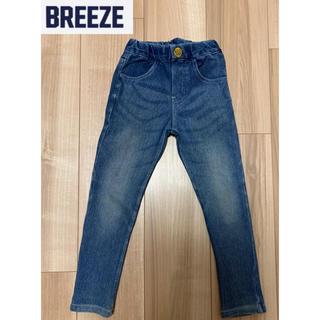 BREEZE - 【BREEZE】スキニーデニムパンツ 110cm