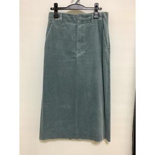 ドゥーズィエムクラス(DEUXIEME CLASSE)の2018AW イレーヴ YLEVE コーデュロイ スカート サイズ2(ロングスカート)