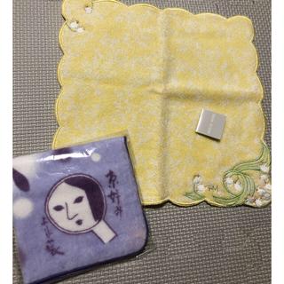 ハナエモリ(HANAE MORI)の【値下げ】タオルハンカチ 2枚 新品(ハンカチ)