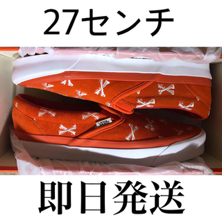 W)taps - wtaps OG CLASSIC SLIP-ON LX ORANGE 27センチ