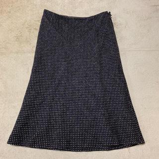 アナイ(ANAYI)のANAYI ツイードスカート 36(ひざ丈スカート)