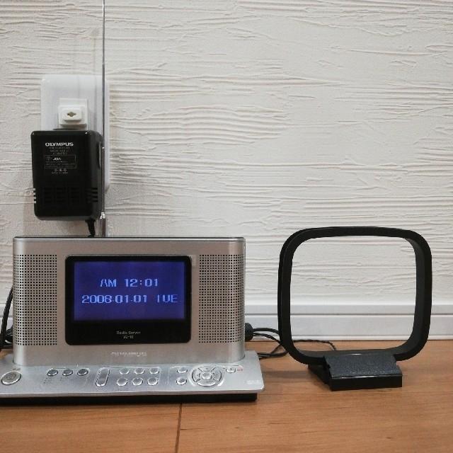 OLYMPUS(オリンパス)のラジオサーバー オリンパス VJ-10 スマホ/家電/カメラのオーディオ機器(ラジオ)の商品写真
