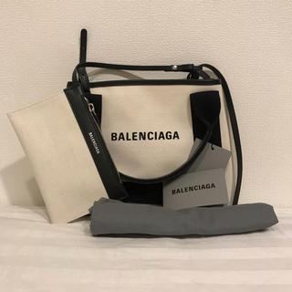 バレンシアガ(Balenciaga)のBALENCIAGA ネイビーカバ XS(ショルダーバッグ)