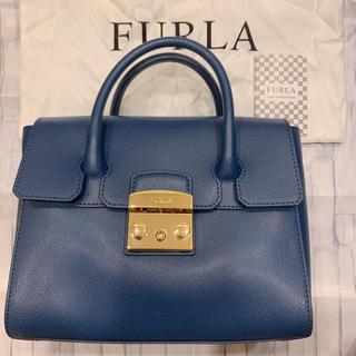 Furla - FURLA フルラ メトロポリス サッチェル ハンドバッグ 訳あり 美品