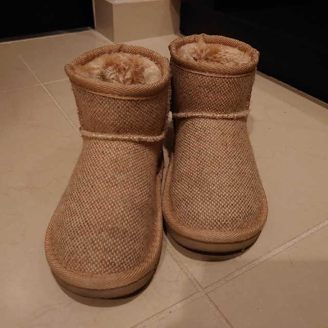 kladskap(クレードスコープ)のクレードスコープ☆くまブーツ(18cm)ほか キッズ/ベビー/マタニティのキッズ靴/シューズ(15cm~)(ブーツ)の商品写真
