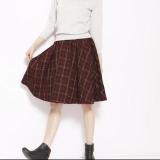 ノエラ(Noela)のノエラ リバーシブルチェックスカート(ひざ丈スカート)