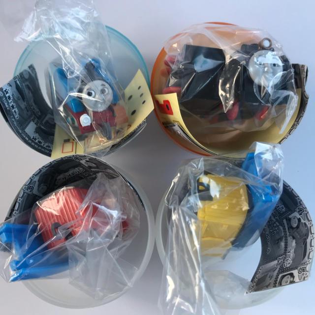 【新品 未使用】カプセルプラレール トーマス【ヒロ】他計4点 エンタメ/ホビーのおもちゃ/ぬいぐるみ(キャラクターグッズ)の商品写真