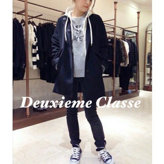 DEUXIEME CLASSE - Deuxieme Classe ドゥーズィエムクラス ★ カシミヤ混コート
