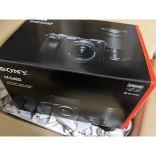 ソニー(SONY)の新品 SONY α6400 ボディ ブラック(ミラーレス一眼)