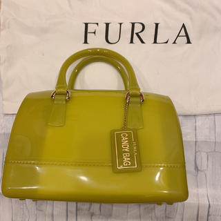 フルラ(Furla)のFURLA フルラ キャンディバッグ 入手困難 国内正規店購入 美品(ハンドバッグ)