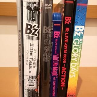 B'z LIVE GYM DVD Blu-ray ブルーレイ 6本セット