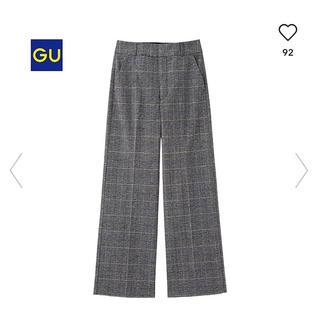ジーユー(GU)のGU ワイドパンツ(カジュアルパンツ)