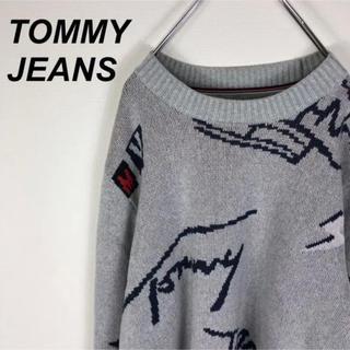 トミーヒルフィガー(TOMMY HILFIGER)のTOMMY JEANZ トミージーンズ ニット セーター  オーバーサイズ(ニット/セーター)