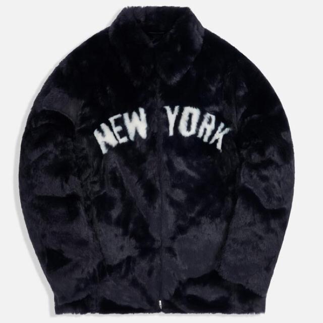 Supreme(シュプリーム)のKITH MLB ネイビー サイズXS ヤンキース レディースのジャケット/アウター(毛皮/ファーコート)の商品写真