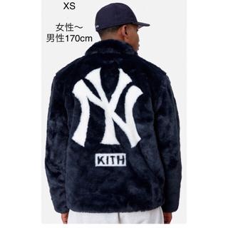 シュプリーム(Supreme)のKITH MLB ネイビー サイズXS ヤンキース(毛皮/ファーコート)