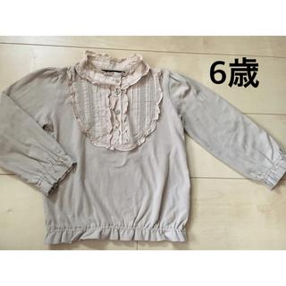 エーキャンビー(A CAN B)のA can B 6才 110cm 120cm 長袖シャツ ブラウス エーキャンプ(Tシャツ/カットソー)