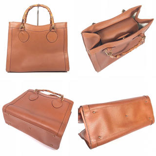 Gucci - グッチ バンブー ビジネスバッグ ブリーフバッグ ハンドバッグ トートバッグ