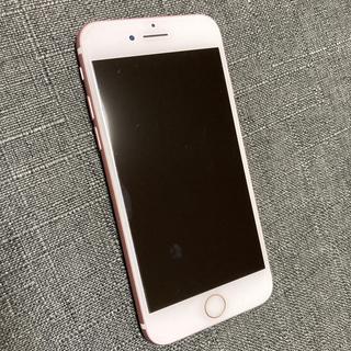 アイフォーン(iPhone)のiPhone7 本体 128gb ローズゴールド(ピンク) SIMフリー(携帯電話本体)