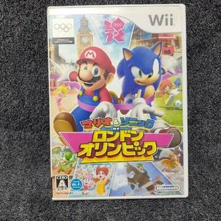 Wii - マリオ&ソニック AT ロンドンオリンピックTM Wii