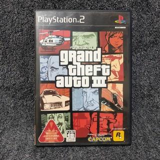 カプコン(CAPCOM)のグランドセフトオート3 PS2(家庭用ゲームソフト)