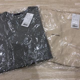 アーバンリサーチ(URBAN RESEARCH)の値下げ!新品♡ アーバンリサーチ ロンT&トートバッグ エコバッグ(Tシャツ(長袖/七分))
