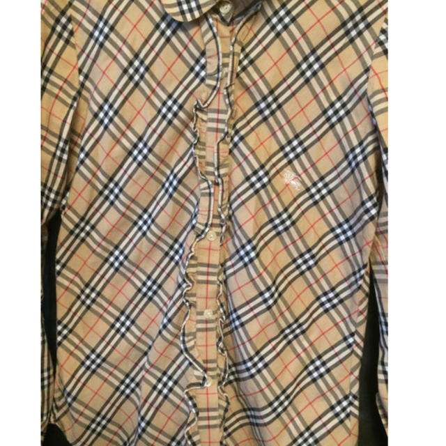 BURBERRY(バーバリー)のBurberry ノバチェック レディースシャツ レディースのトップス(シャツ/ブラウス(長袖/七分))の商品写真