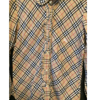 BURBERRY - Burberry ノバチェック レディースシャツ