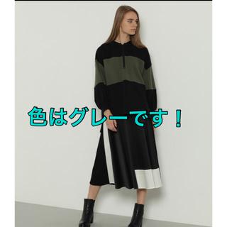 GRACE CONTINENTAL - バイカラー裏毛トップス