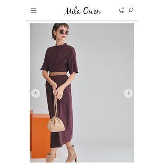 Mila Owen - 新品 コクーンワンピース サイズ 1