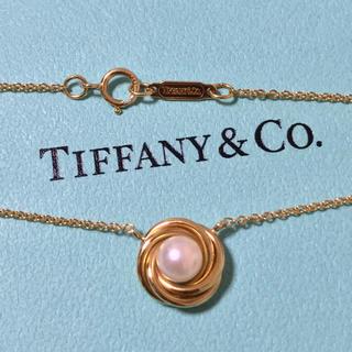 Tiffany & Co. - ティファニー ゴールド パール ネックレス K18 750 ヴィンテージ