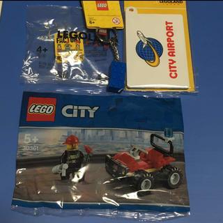 レゴ(Lego)のLEGO キーホルダー など 4点セット(キーホルダー)