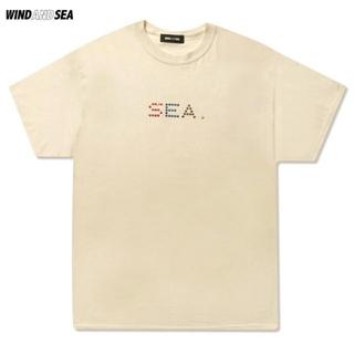 SEA - WIND AND SEA × SOPHNET.*『M』*Tシャツ*ベージュ