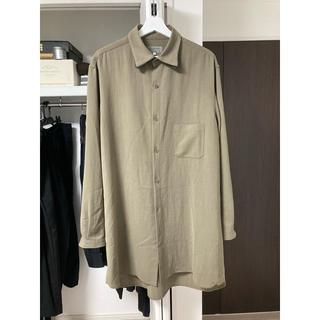 Yohji Yamamoto - yohji yamamoto 18ss  襟マチ付きシャツ