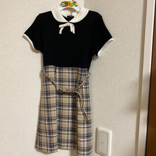 クミキョク(kumikyoku(組曲))の組曲 ワンピース 120cm(ドレス/フォーマル)