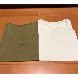 ディーエイチシー(DHC)のDHC  Vネック Tシャツ Sサイズ 2枚セット(Tシャツ(半袖/袖なし))