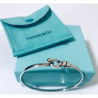 Tiffany & Co. - Tiffany&Co. ティファニー  フック&アイ  バングル  ブレスレット