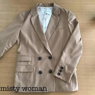 ミスティウーマン(mysty woman)の【美品】ミスティウーマン テーラードジャケット(テーラードジャケット)