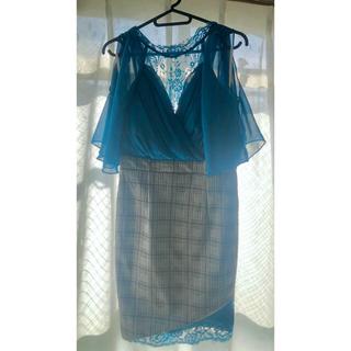 dazzy store - dazzy store シースルーオフショルタイトドレス