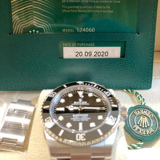 ロレックス(ROLEX)のロレックス ROLEX サブマリーナ ノンデイト 124060(腕時計(アナログ))