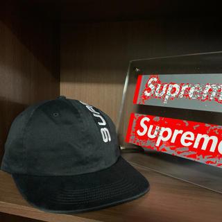 Supreme - Supreme シュプリーム 18aw 6-Panel cap ブラック