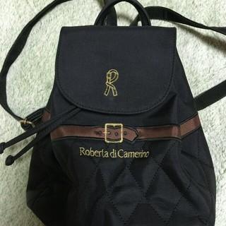 ロベルタディカメリーノ(ROBERTA DI CAMERINO)のミニリュックとミニボストンのセット(リュック/バックパック)