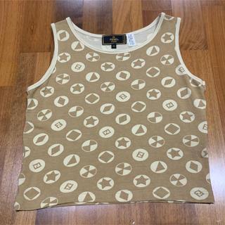 フェンディ(FENDI)のFENDI  フェンディ タンクトップ 40(カットソー(半袖/袖なし))