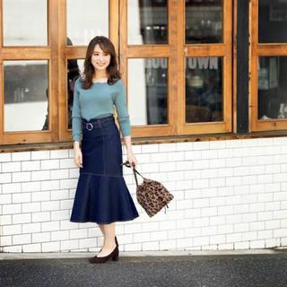 PROPORTION BODY DRESSING - プロポーションボディドレッシング❤︎マーメイド ミモレスカート